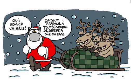 Bd bonne année et Joyeux Noël marrante