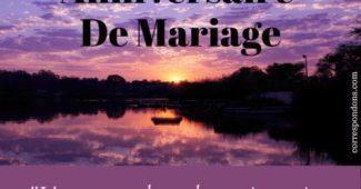 Jolie carte Bon anniversaire 50 ans de mariage pour amis ou parents