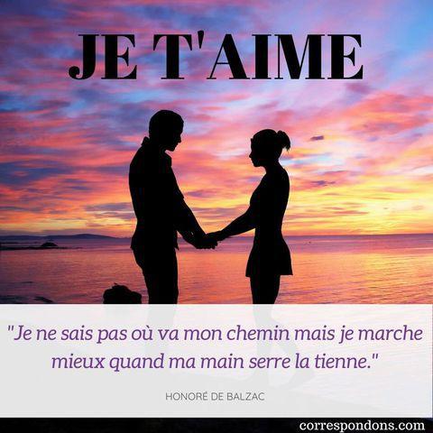 Mots Damour Message Je Taime Touchant Ou Humour Image
